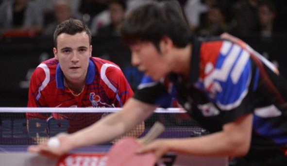 Tennis de table epreuves l 39 quipe de france olympique - Equipe de france de tennis de table ...